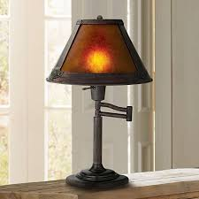 Quoizel Glenhaven Table Lamp Mission Bronze 18