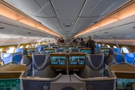 Emirates Airbus A380 Interior Business Class Interior Of Business Class Of The World U0027s Largest Aircraft Airbus