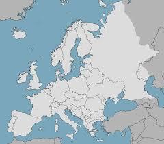 Modern Europe Map by Europe Blank Map 3 By Fenn O Manic On Deviantart