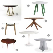 cb2 round dining table dining in the round ms weatherbee