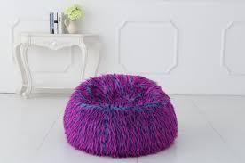 Faux Fur Bean Bag Chairs New Multi Colour Faux Fur Bean Bag Chairs Ebay