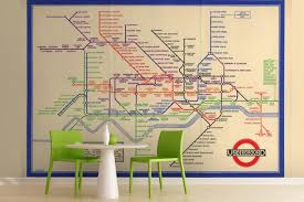 underground map free shipping vintage underground map mural for photo 3d