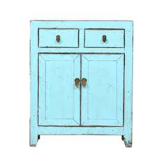 blue vintage cabinet from dongbei rouge