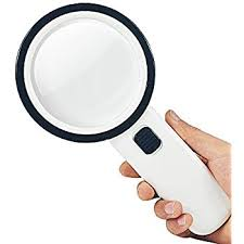 10x magnifying glass with led light amazon com 10x handheld magnifying glass with 12 led and uv light