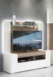 amazon com toronto tv cabinet with wall panel medium u2013 living