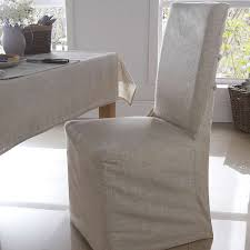 custom shabby chic parsons dining chair covers in white canvas