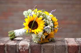 sunflower bouquets fall sunflower wedding bouquets sunflower wedding bouquets to