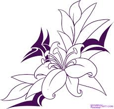 how to draw a flower tattoo step by step tattoos pop culture
