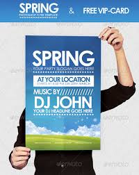 nature outdoor party festival flyer poster template free club