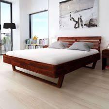 letto a legno massello letti marrone legno massello ebay