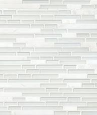 BACKSPLASHCOM Kitchen Backsplash Tiles  Ideas - White glass backsplash tile