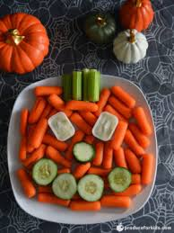 jack o u0027 lantern veggie platter halloween vegetable platter