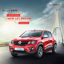 renault kwid black colour more powerful renault kwid 1 0 on sale in goa