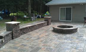Raised Patio Construction Amazing Design Patio Walls Endearing Raised Patio With Walkway