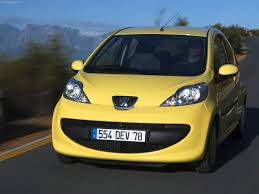 peugeot yellow peugeot 107 2005 pictures information u0026 specs