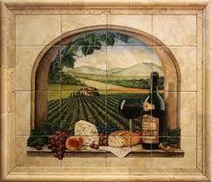 mural tiles for kitchen backsplash grape kitchen theme exles of kitchen backsplashes kitchen
