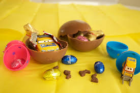 easter eggs surprises make your own chocolate eggs fish