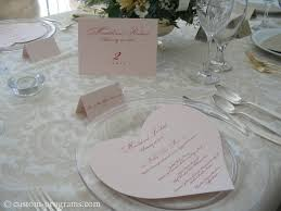 reception stationery menus circle menu circular wedding