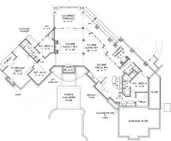 lake burton lodge mountain house plan rustic floor plans