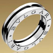 bvlgari man rings images Bulgari b zero1 1 band ring in 18kt white gold jewelry trends jpg