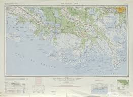New Orleans Elevation Map by New Orleans Topographic Map Sheet United States 1949 Full Size