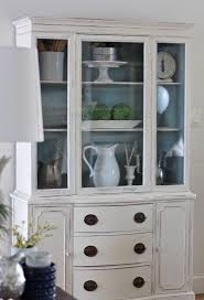 china cabinet painted china cabinet diypainted with distressed