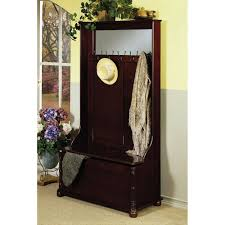 amish entryway furniture hall tree storage bench hall tree and