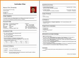 How Make Resume 8 How To Make Cv For Freshers Musicre Sumed