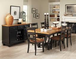 Distressed Black Dining Table Wonderful Design Ideas Distressed Dining Table Set All Room