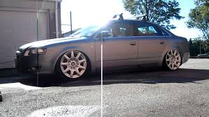 bentley wheels on audi b7 audi a4 on air ride youtube