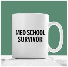 med school gifts med school mug med school survivor school gifts
