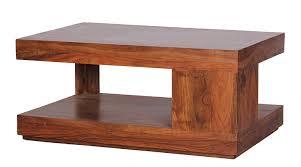 Wohnzimmertisch Akazie Wohnling Couchtisch Massiv Holz Sheesham 90 Cm Breit Wohnzimmer