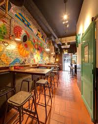 eclectic restaurant decorating amusing industrial chic cafe design