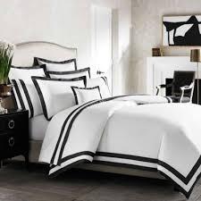 trend white duvet cover with black trim 74 for king size duvet