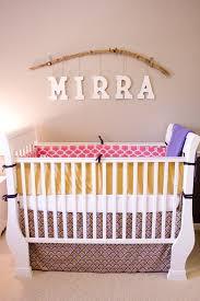 diy cute nursery for baby mirra home design and interior