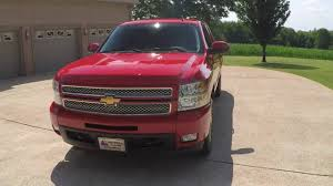 hd video 2013 chevrolet silverado ltz z71 red 4x4 leather extended