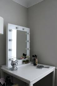 mirror with light bulbs mirror with lights around wonderful dressing table with lights