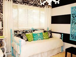 Pink And White Striped Bedroom Walls Bedroom Design Girls Bedroom Modern Pink Cheap Teenage