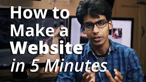 How To Make A Business Email Address by How To Create A Website In 5 Mins With Wordpress Youtube
