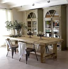 rustic dining room with wooden table choosing the best dining