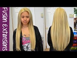 hot hair extensions keratin hot fusion hair extensions application