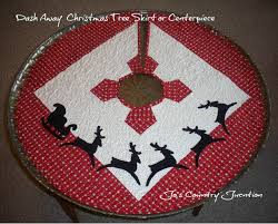 friday finish dash away tree skirt