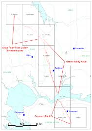 Hayward Fault Map Concord Fault Wikipedia