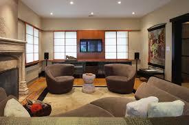 Basement Media Room Decorations Admirable Basement Media Room Design Ideas Cream