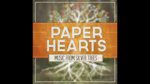 paper hearts by silver trees
