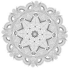 mandalas printable coloring pages coloring home