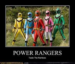 Taste The Rainbow Meme - 24 best power rangers motivators smosh