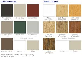 Luxury Color Palette Window World Color Options Replacement Installation U0026 Repair