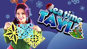 paper snowflake arts and crafts for children video dailymotion