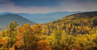 fall color blue ridge mountains